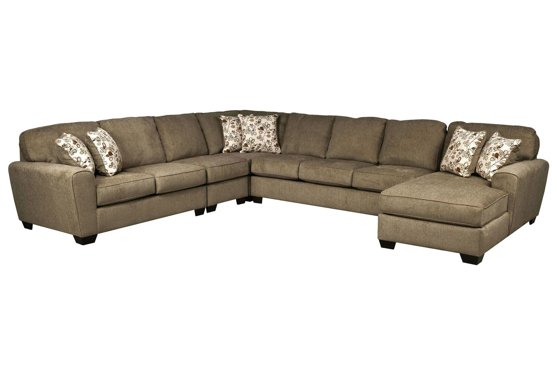 Patola Park 5 Piece Sectional Patola Park 5 Piece Sectional W Raf Chaise Living Spaces