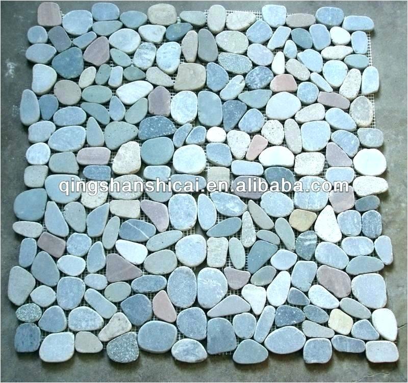sliced pebble tile shower floor pebble shower floor pros and cons pebble shower floors for tiled showers how to install small