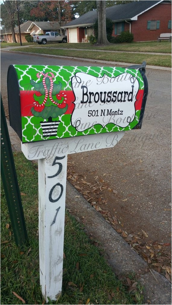 personalized magnetic mailbox covers