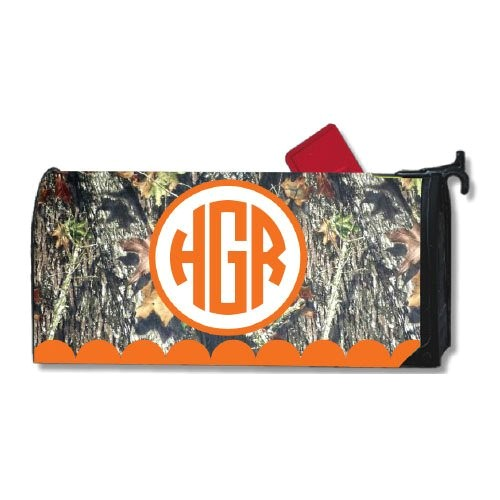 personalized camo magnetic mailbox cover