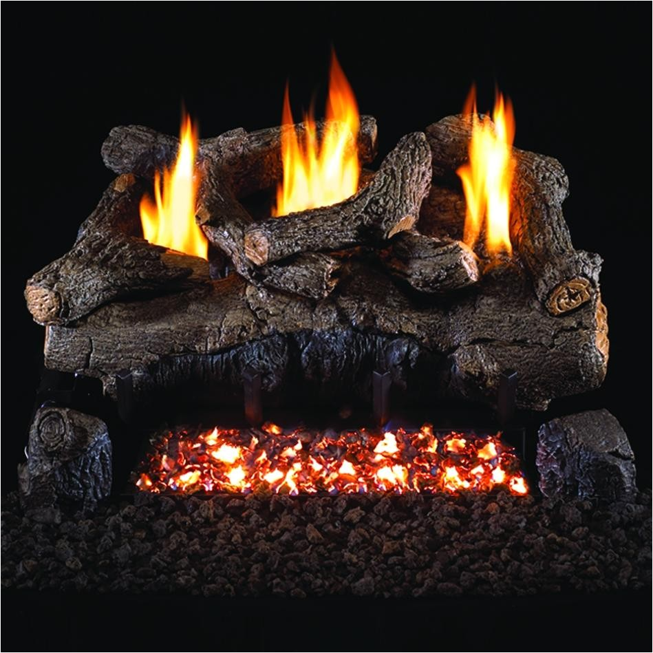 item name peterson gas logs 24 inch evening fyre vent free propane gas log set w ans path 3 7121 item 1943084