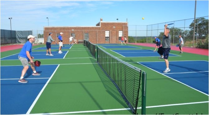 new pickleball courts provide recreation for fort scott