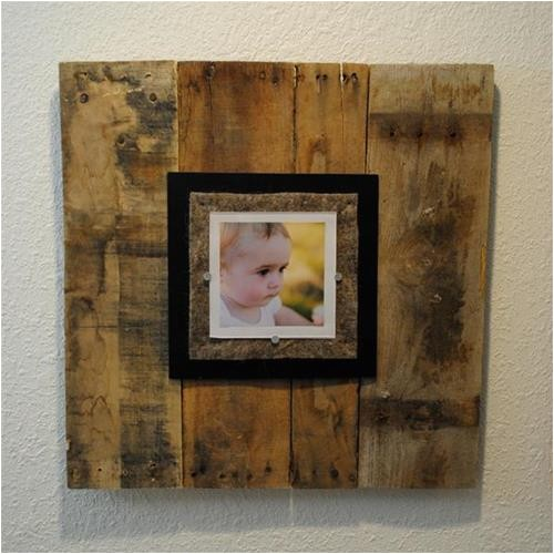 diy pallet photo frames ideas