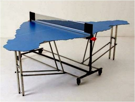 todays ping pong tables come in crazy