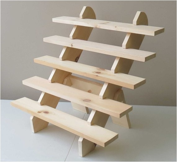 Portable Display Shelves for Craft Shows Collapsible Riser Portable Display Stand Store Countertop