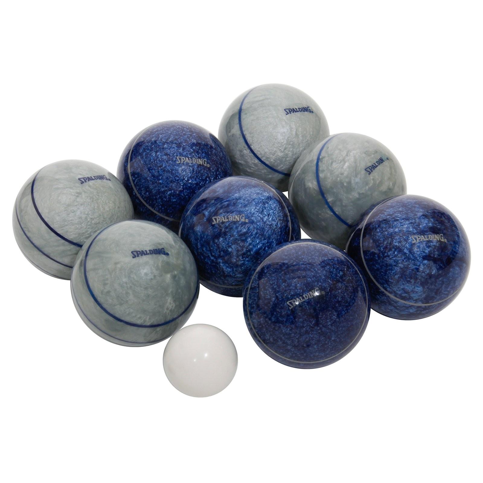 Professional Bocce Ball Set Spalding Professional Series 107mm Bocce Ball Set Bocce