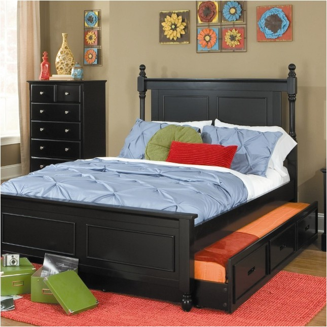 inspiring trundle queen bed