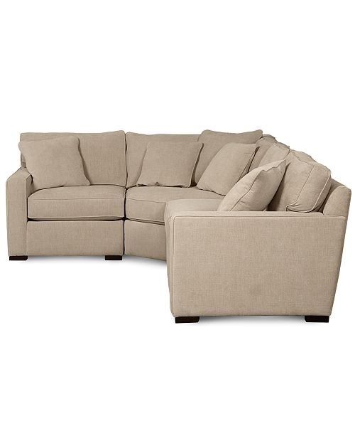 radley fabric 4 piece sectional sofa id 2279359