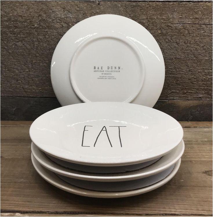 Rae Dunn Eat Dinner Plates Best 25 Plate Sets Ideas On Pinterest Dish Sets Dinner