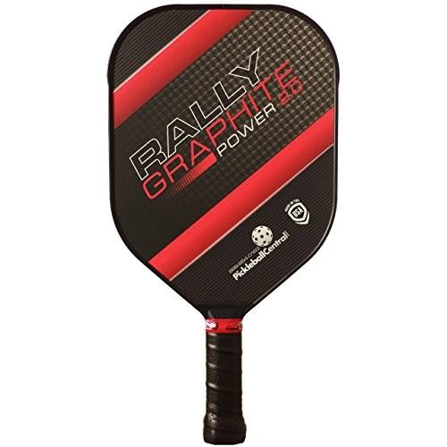 rally graphite power 20 pickleball paddle red ap b013vs45zs