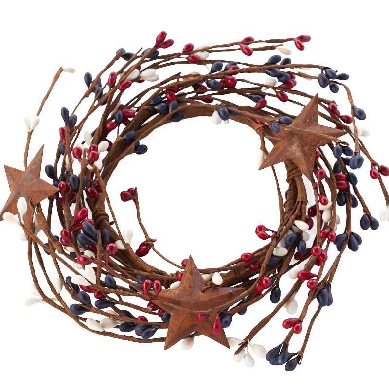2030 2038 56700 americana rusty stars and pip berry candle ring