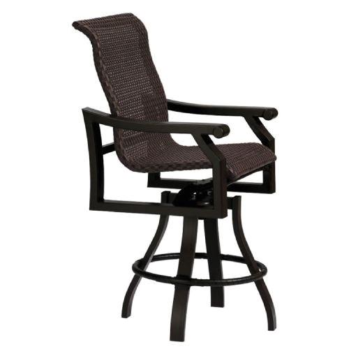 Replacement Seats for Swivel Bar Stools Tropitone Replacement Cushions Mondovi Tropikane Woven