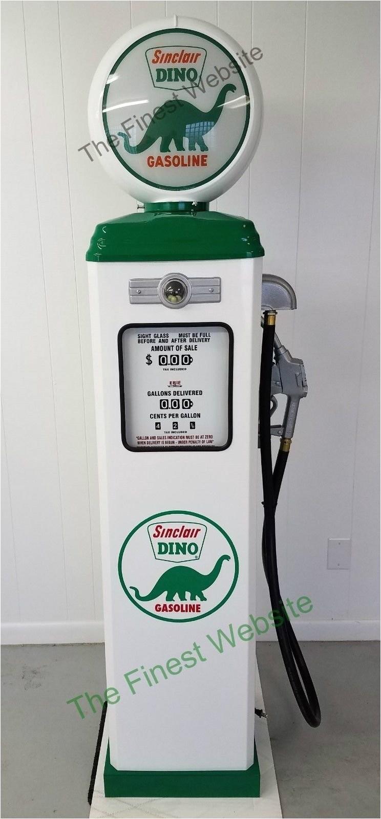 new sinclair dino gas pump reproduction antique vintage replica 141294724031