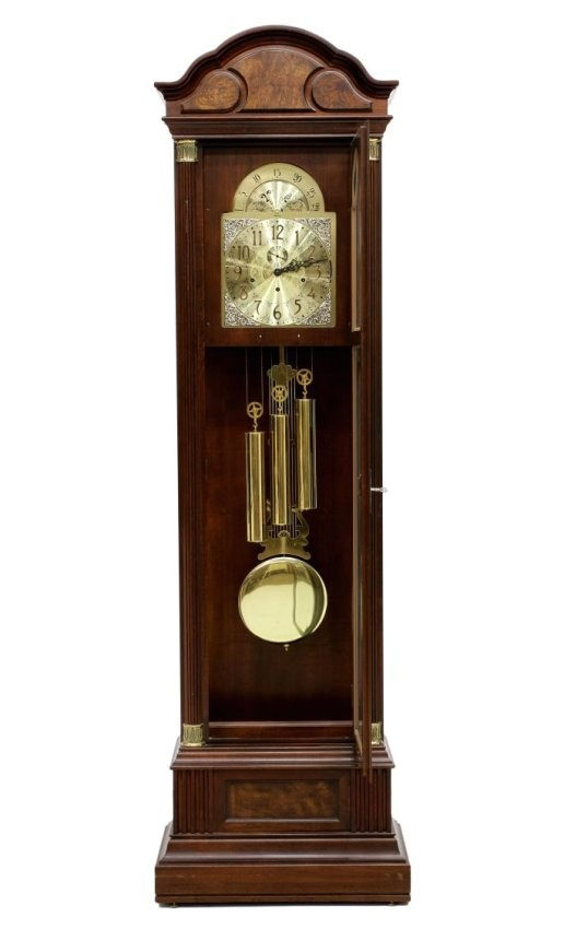 30249499 ridgeway chiming triple weight grandfather clock