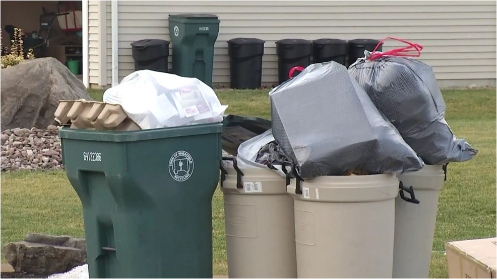 frigid temps cause delay for rumpke recycling collection