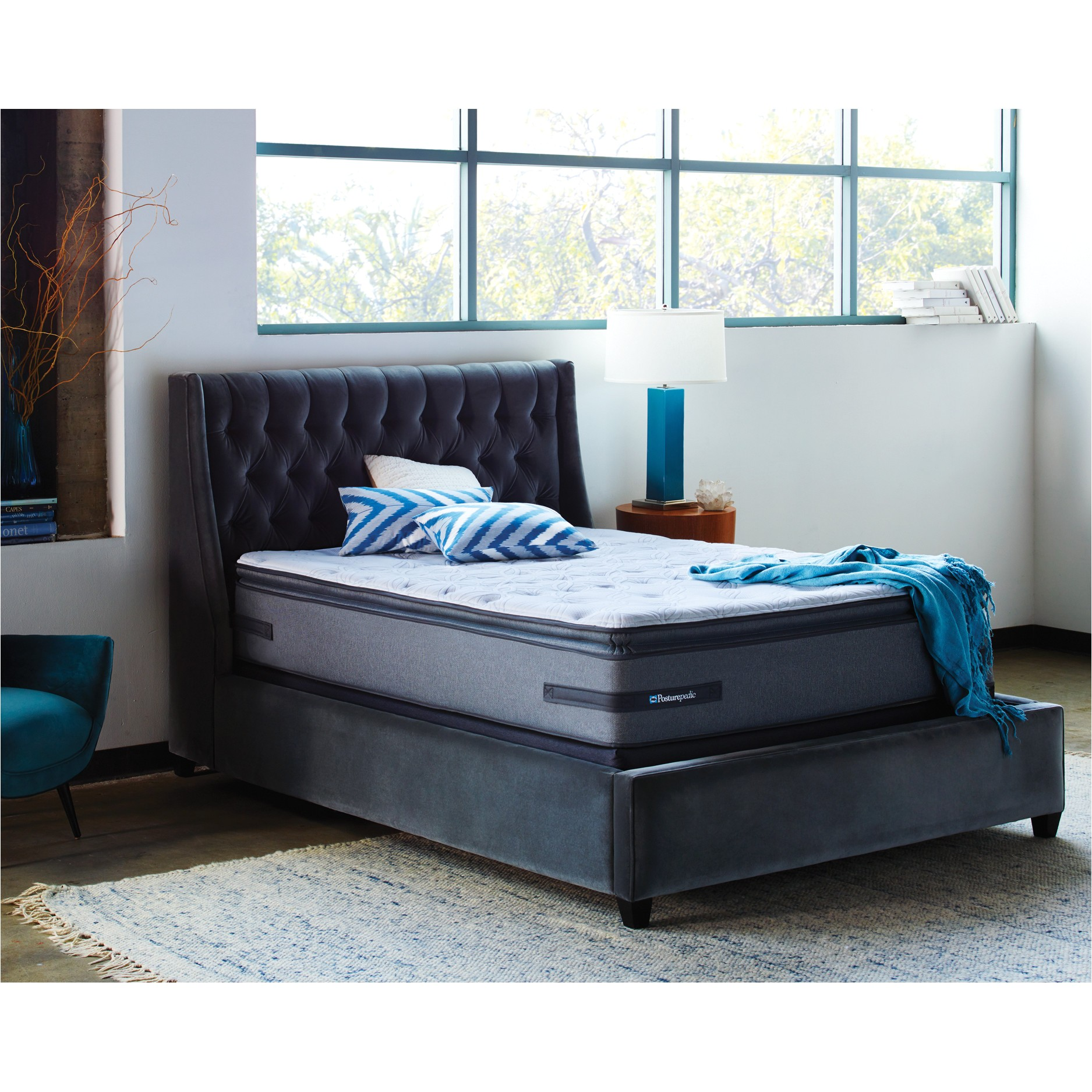 posturepedic 25c2 25ae plus 14 plush mattress 512593 scm1149