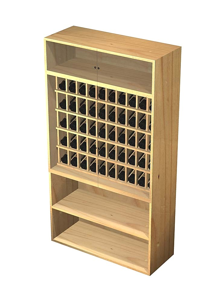 locking wine cabinet
