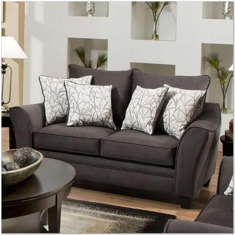 Simmons Flannel Charcoal sofa Reviews Simmons Flannel Charcoal sofa sofas Wonderful Simmons