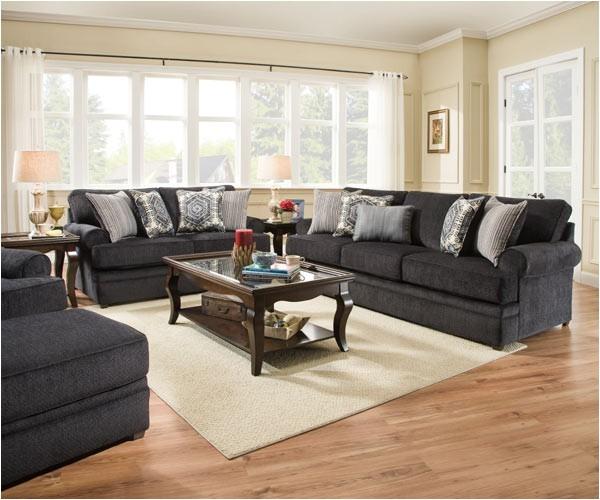 simmons upholstery bellamy slate sofa 8530br 03 bellamy slate