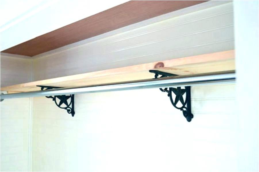 sloped ceiling clothes rod bracket sloped ceiling clothes rod bracket storage organization sloped ceiling clothes rod bracket home depot