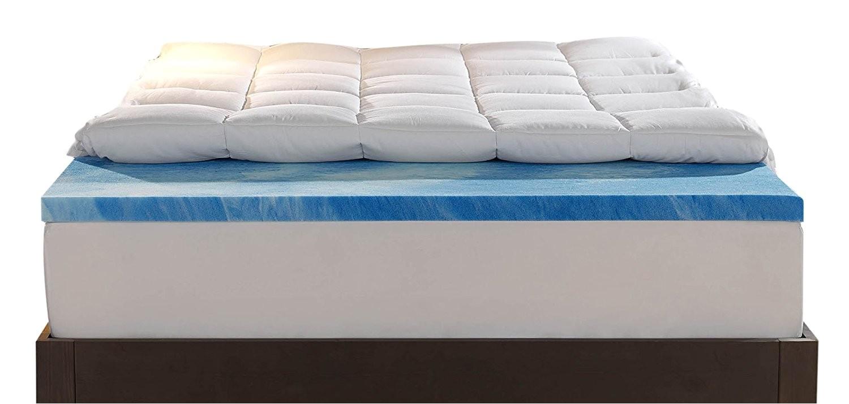 best king size memory foam mattress toppers reviews