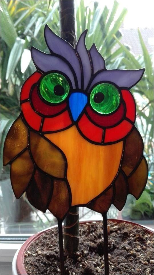 Stained Glass Owl Suncatcher Patterns Resultado De Imagen Para Pajaros En Tiffany Disenos