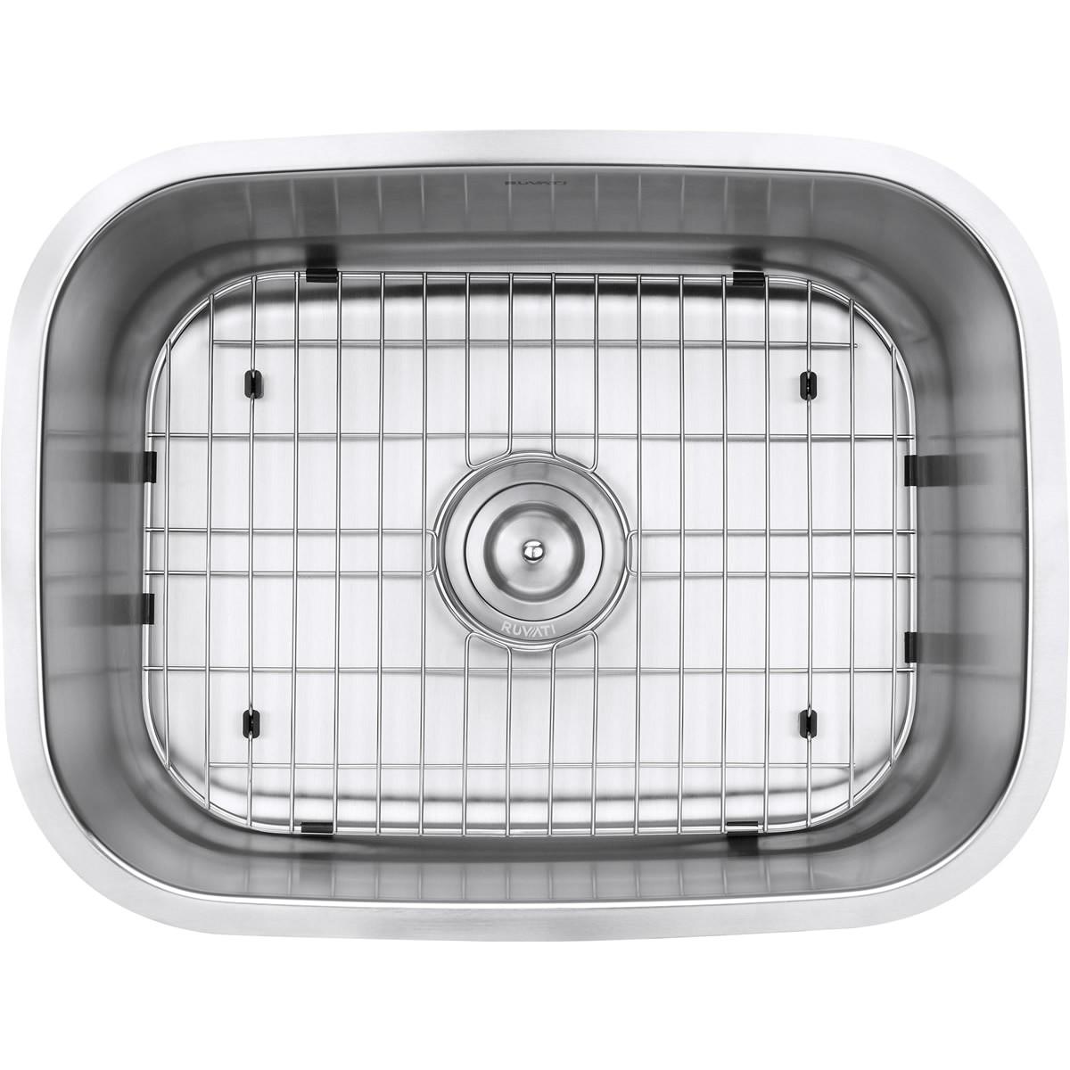ruvati rvm4132 undermount 16 gauge 24 kitchen sink single bowl