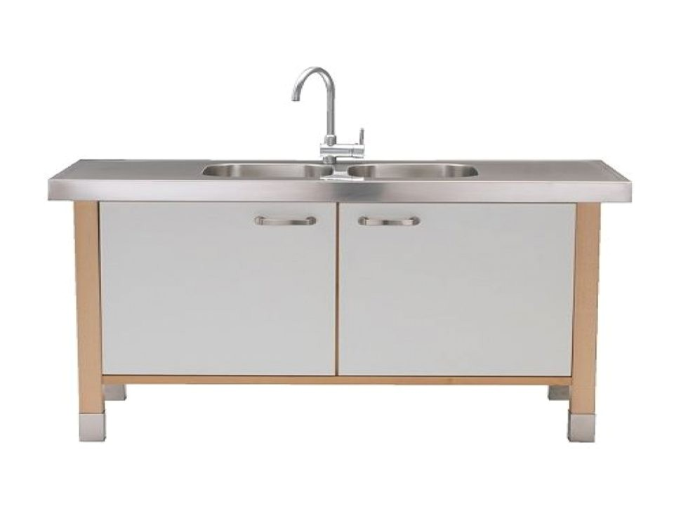 kitchen sinks stand alone kitchen sink cabinet white rectangle f5fb4c7bd58b792b
