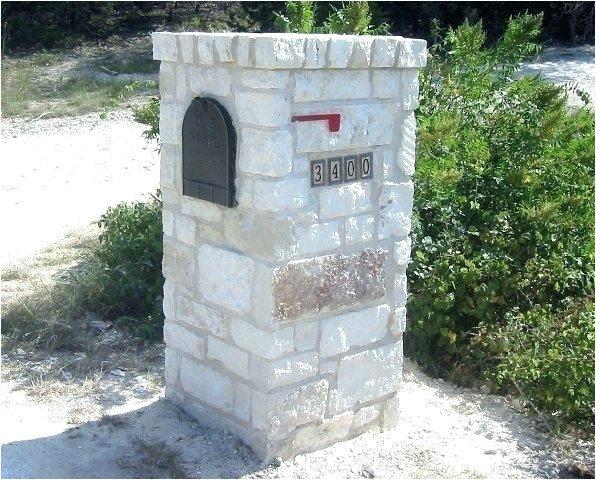 stone mailbox kits highland column stacked stone mailbox kits