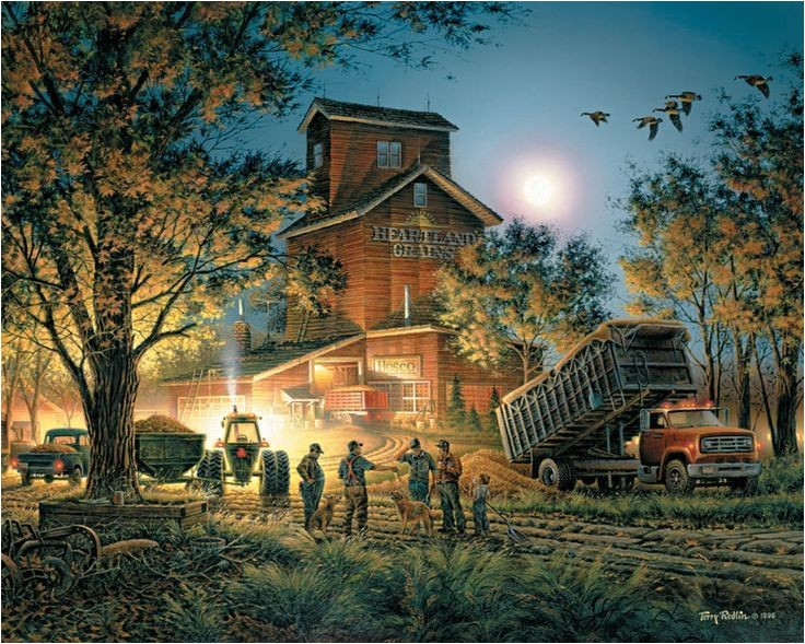 paintings by terry redlin