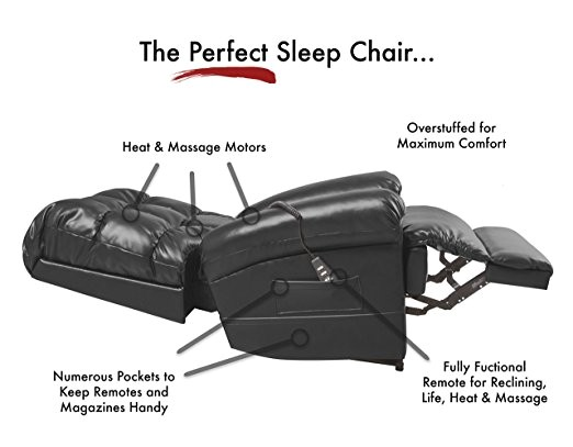 sleeping recliner chair