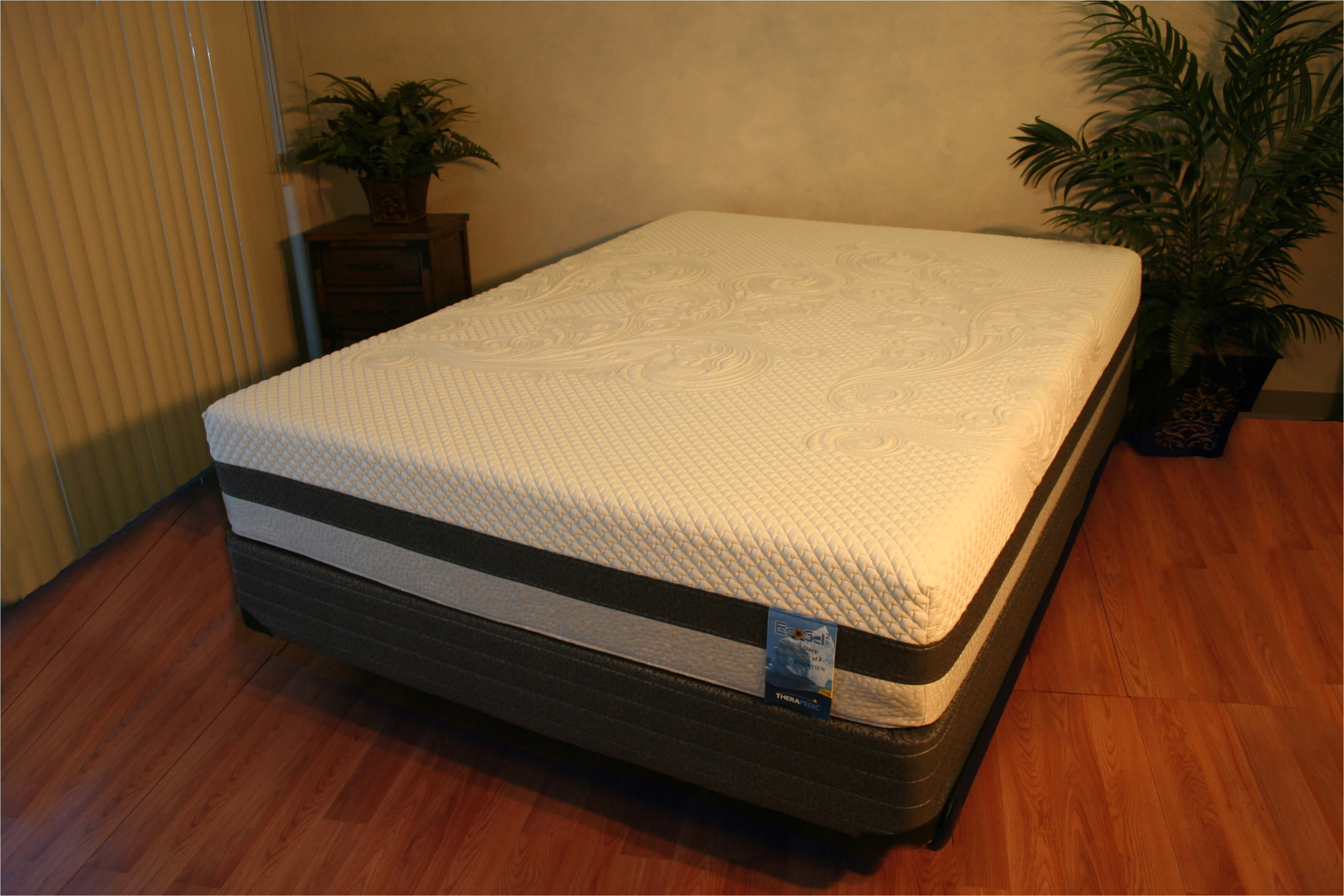 therapedic riverview mattress set