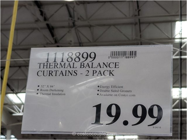 thermal balance curtains
