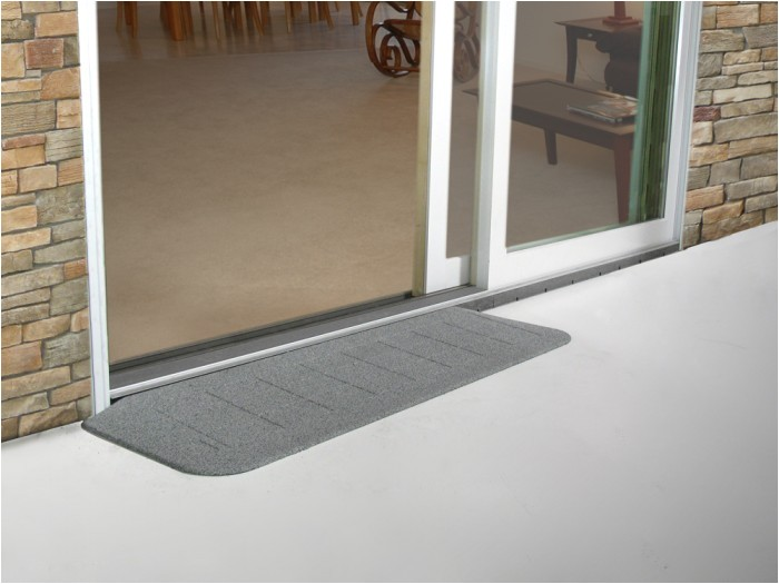 Threshold Ramp for Sliding Glass Door Safe Path Rubber Threshold Ramps Free Shipping