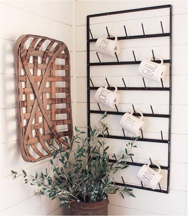 tobacco basket decor