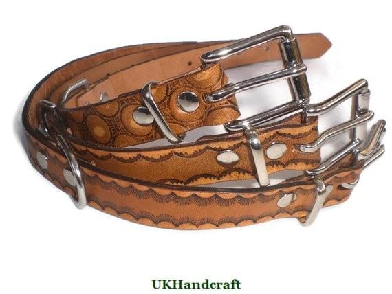 leather dog collar medium dog collar
