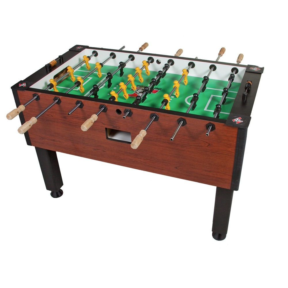 tornado elite foosball table cherry