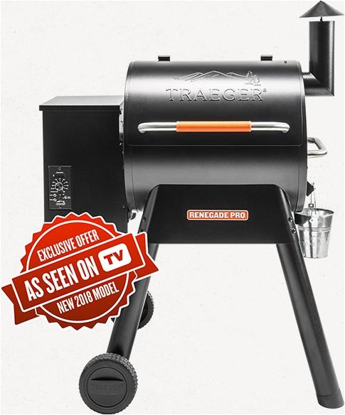 traeger 2018 renegade pro pellet grill