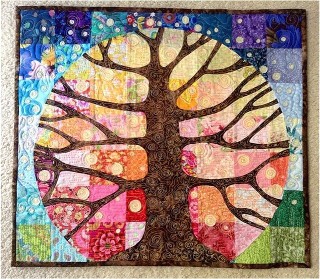 Tree Of Life Quilt Block Pattern Free Tree Of Life Quilt Free Quilt Patterns
