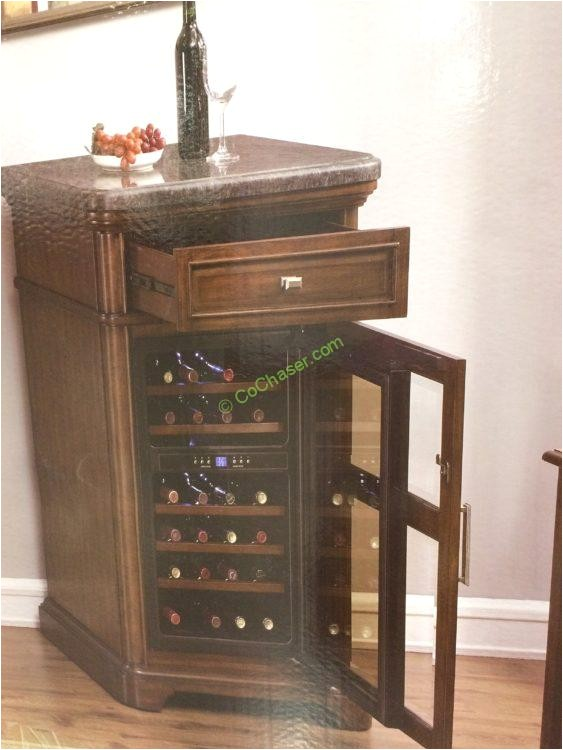 costco 1075067 tresanti wine cabinet with 24 bottle cooler2
