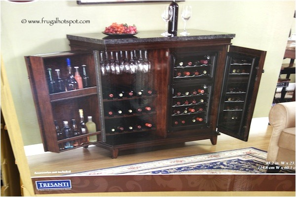 tresanti zinfandel thermoelectric wine cooler cabinet