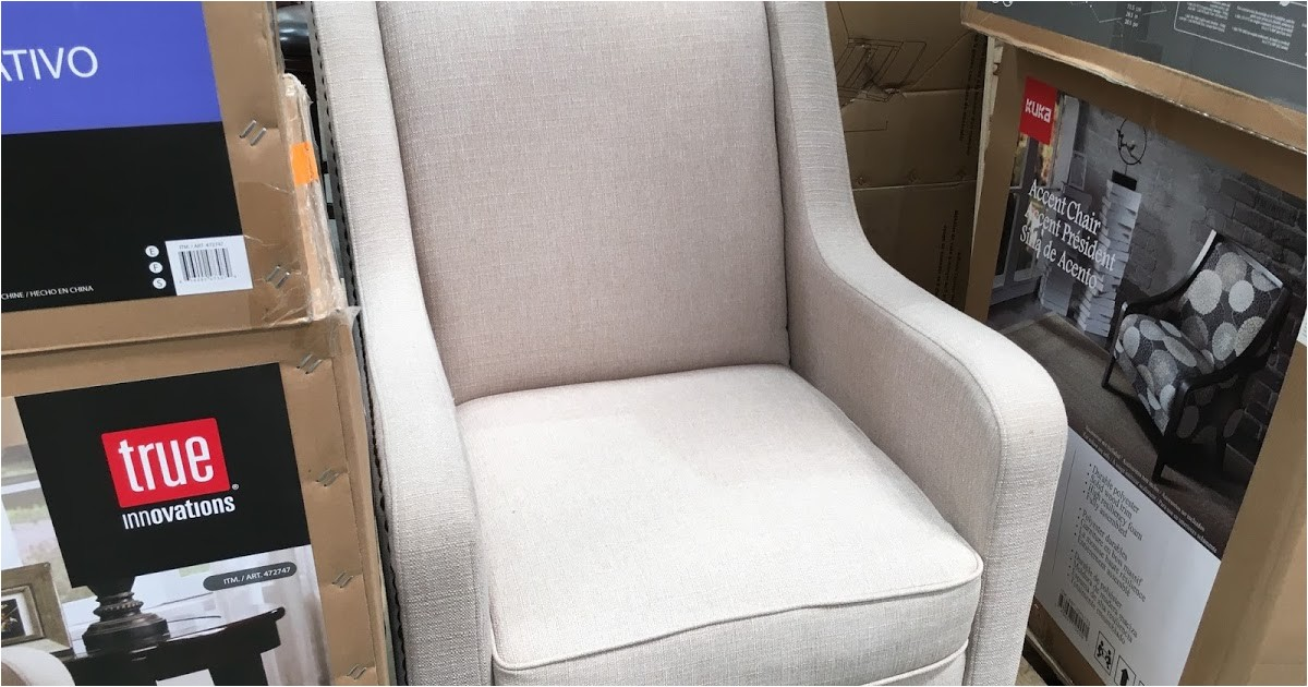true innovations fabric accent chair costco 472747