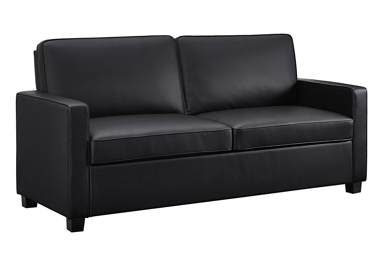 signature sleep 2152007 casey faux leather sofa 2
