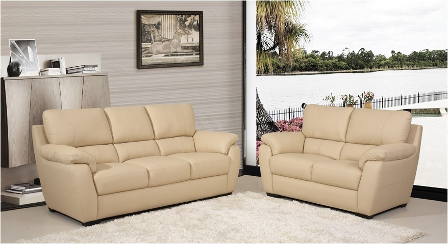 types of leather sofas