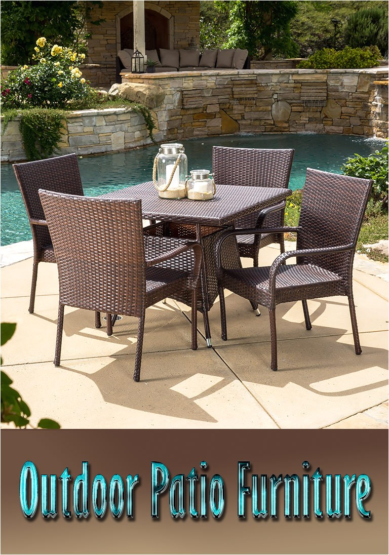 outdoor patio furniture types materials