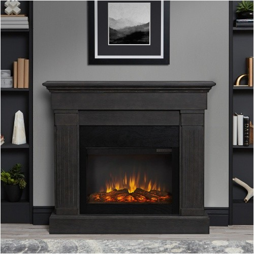 Ultra Thin Gas Fireplaces Real Flame Crawford Slim Line Electric Fireplace White