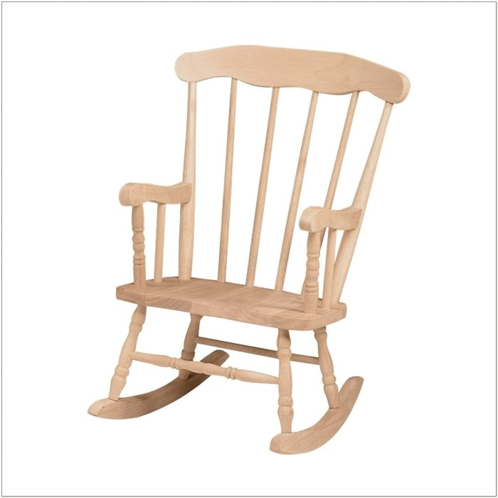 unfinished wood rocking chair runners australia
