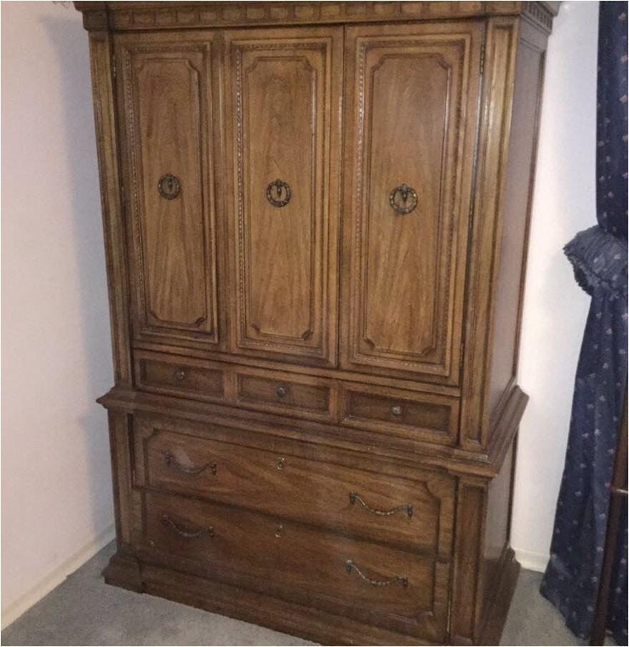 4446921 vintage thomasville armoire