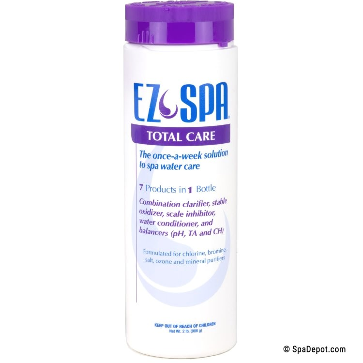 What is In Ez Spa total Care Ez Spa total Care 2 Lb Spadepot Com
