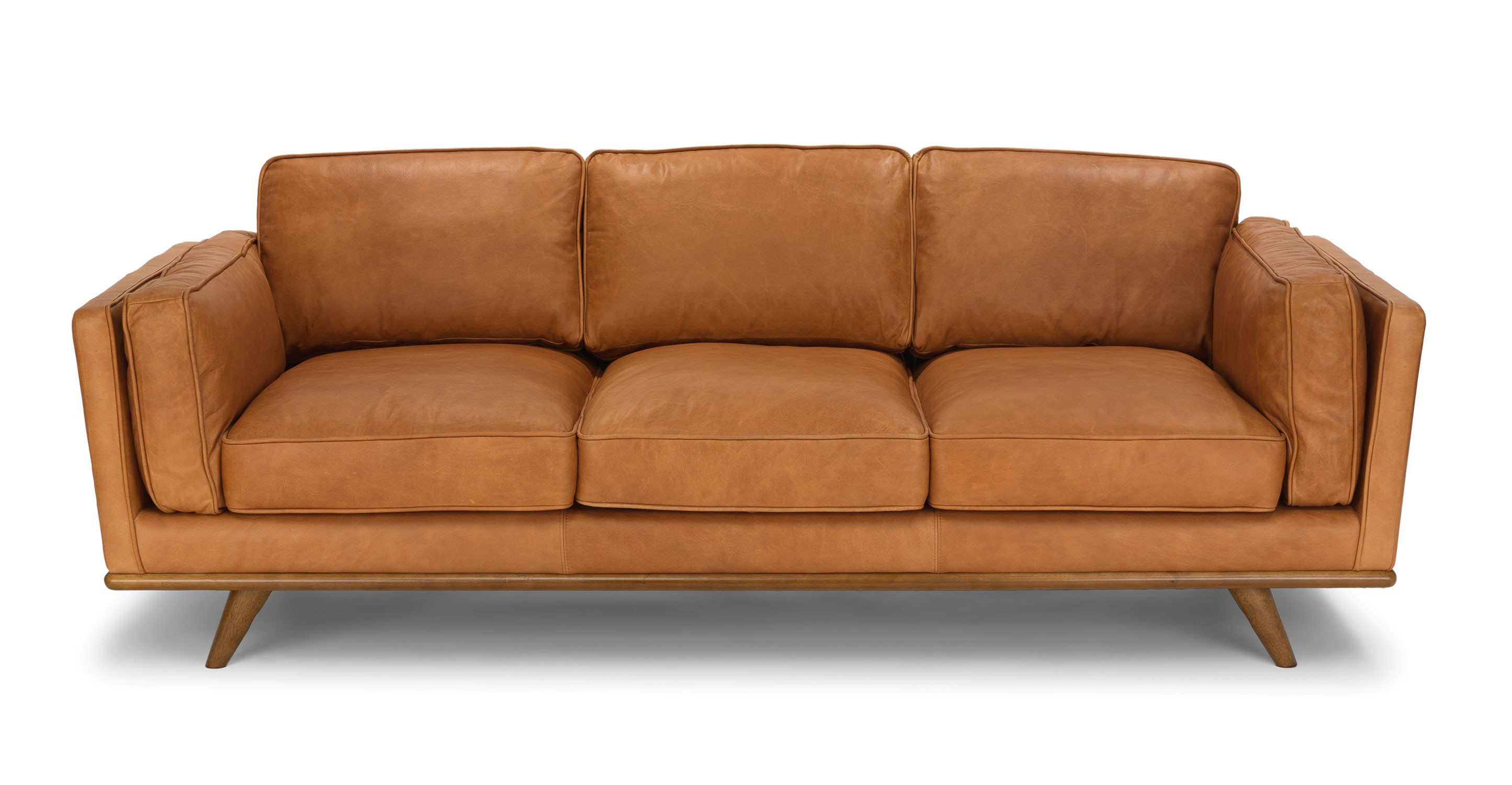 timber charme tan sofa